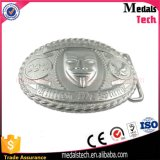 Die Cast Silver Plated Cheap Quality Metal Belt Buckle