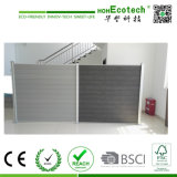 Wood Plastic Composite Fence Garden Fence