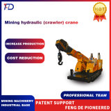 15ton Mining Hydraulic Crawler Crane Used for The Installation and Withdrawal of Mining Machinery