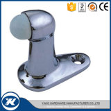 Stainless Steel Hardware Floor Mounted Rubber Bathroom Door Stopper