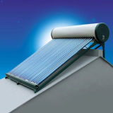 Non-Pressure Solar Water Heater with 1.5kw Electric Hater