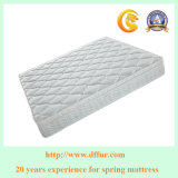 OEM Compressed Mattresses Prices 24cm Deluxe Pillow Top Design with Bonnell Spring and Foam Layer