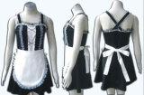 Gothic Lolita Home Maid Uniform Cosplay Costume 03