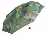 Aluminum 3 Fold Umbrella with Camouflage Design (OCT-GH029)