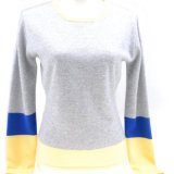 Ladies′ 100% Cashmere Sweater (14-BRHZ8803.2)