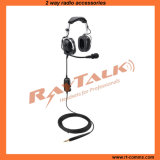 Ground Support Headset with Metal Boom Mic