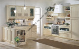 New Design Solid Wood Kitchen Cabinet (zs-289)