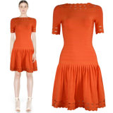Bigh Simple Knitted Bandage Dresses