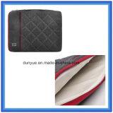 Factory Manufacturer Shockproof Slim Laptop Briefcase Bag, Soft Fur Lining Laptop Sleeve with Zipper