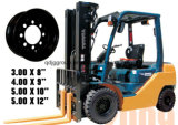 8.00-24t Forklift Steel Rim/Wheels of 10inch