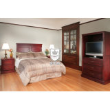 Chinese Manufacture Wooden Hotel Bedroom Furniture From Foshan