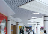 Decorative Suspended Metal Grid Ceiling Aluminum Triangle for Stadiums