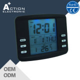 LCD Digital Alarm Clock with LED Backlight and Timer Function