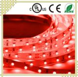 Red LED Strip Light with White Background