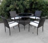 UV-Resistant Rattan Use Outdoor Wicker Furniture Dining Set Outdoor Garden