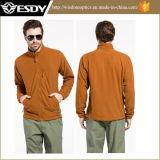 Tactical Tan Color Autumn Breathable Fleece Jacket Mens