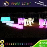 Hotselling Plastic Furniture LED Outdoor Chairs