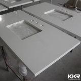 Custom Made Solid Surface Bathroom Countertop Vanity Top