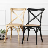 Hot Sale Solid Wood Cross Back Dining Chair