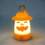 Portable Nice Printing Halloween Hanging LED Lantern for Garden or Public Decor
