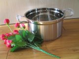 2017 Hot Sell Stainless Steel Saucepan 3 Layer Bottom