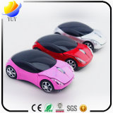 Lovely Color Car in The Shape of The 2.4G Wireless Mouse