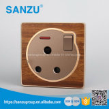 Hoting Design Wood Wall Switch and Socket