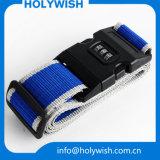 Promotional Tsa Lock Luggage Strap Adjustable Travel Belt