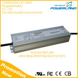 150W 0.63A 142-285V Constant Current / Constant Voltage Programmable LED Driver