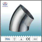 Stainless Steel Pipe Fitting: 45 Degree Welded Elbow (DIN-No. NM0211004)
