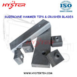 Sugercane Machinery Wear Parts Chrome Carbide Shredder Hammer Tips