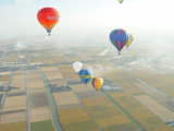 Hot Air Balloon The for to Go Sightseeing and Wedding Trip