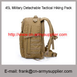 Wholesale Cheap China Army Desert 45L Police Tactical Hiking Pack