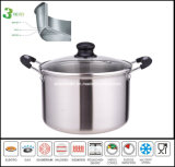 All Clad 3ply Body Saucepot Casserole