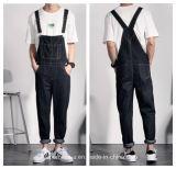 High Quality Men′s Long Cotton Pants Casual Denim Overalls