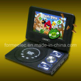 """7"""" LCD Portable DVD Player with Game TV Radio"""