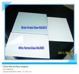 China 3mm-6mm Thickness Indoor Decorative White Painted Glass (BPG-1601)