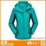 Women′s Sport 3 in 1 Outdoor Fashion Jacket