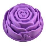 """9"""" Rose Flower Birthday Cake Bread Tart Flan Mould"""