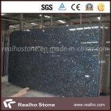 Polished Blue Color Granite Bt Blue Pearl Granite Slab
