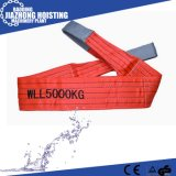 10ton Webbing Sling in Different Safety Factor Round Sling