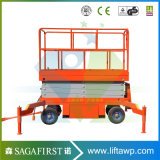 10m Automatic Battery Operated Scissor Man Lift Table