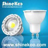 Aluminium 3W COB LED Spotlight (SUN10-COB-GU10-3W-F)