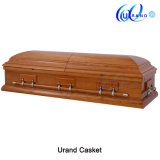 Oak Veneer Natural Surface American Loved Coffin and Casket