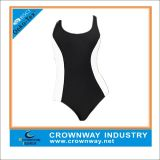 Women′s Plain Sexy Swimwear/Swimsuit with Mixed Size