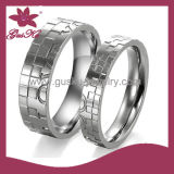 Fashion Accessories Stainless Steel Couple Ring (2015 Gus-Str-006)