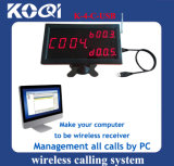 Electronic 3-Digit Number Display Screen Connect to PC Wireless Equipment