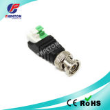 Coax Cat5 to CCTV Coaxial Camera BNC Male Plug Video Balun Connector