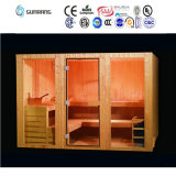 2017 Hot Sale 1-8 Person Big Size Traditional Steam Infrared Sauna