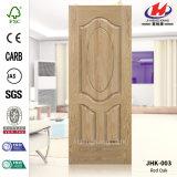 Jhk-003 HDF/MDF Veneer Wooden Door Skin (Red Oak Natural)
